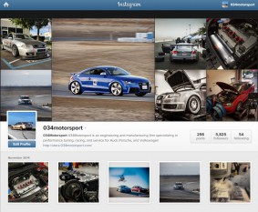 034Motorsport is on Instagram!
