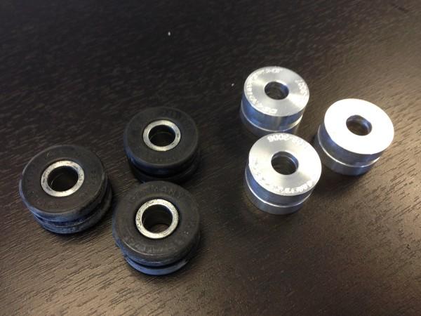 Billet Aluminum Shifter Bracket Bushing Kit DIY