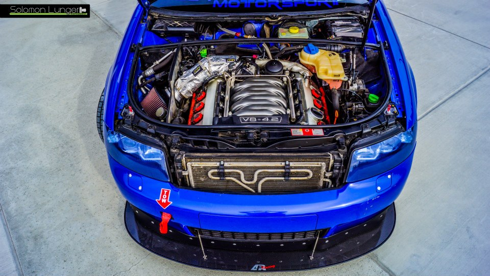 Justin's B6 Audi S4 4.2L Race Car Build