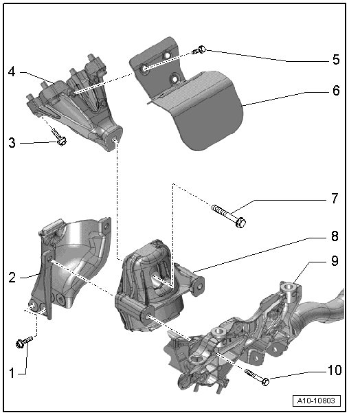 B8 Audi S4 Density Line Engine Mount Torque Specs