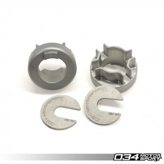 Installation Instructions: B6/B7 Audi A4/S4/RS4 Rear Differential Carrier Mount Insert Kit DIY - 034-505-2015