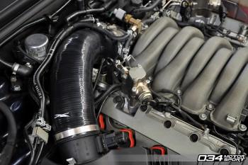 Installation Instructions: B8 Audi S5 4.2L FSI High-Flow Throttle Body Inlet Hose DIY