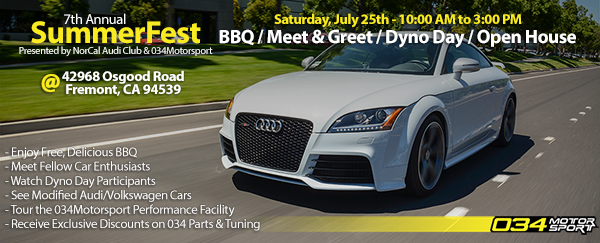 SummerFest: San Francisco Bay Area's Largest Audi Meet
