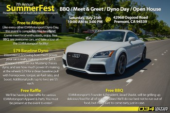 SummerFest: San Francisco Bay Area's Largest Audi Meet, BBQ, Dyno Day, and Open House!
