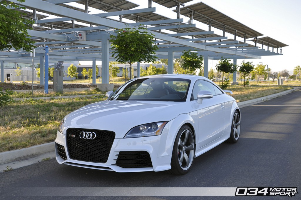 Suzuka Grey Audi TT RS 2.5 TFSI RS500 Turbo Kit Upgrade | 034Motorsport