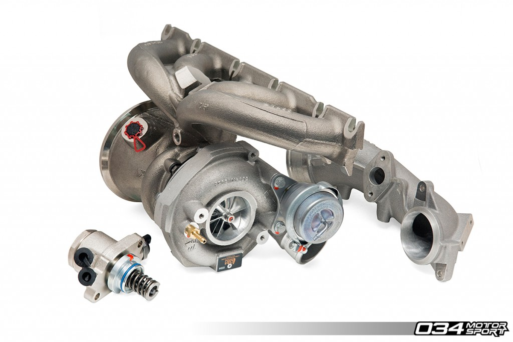 RS500 Audi TT RS Turbo Kit Upgrade by 034Motorsport