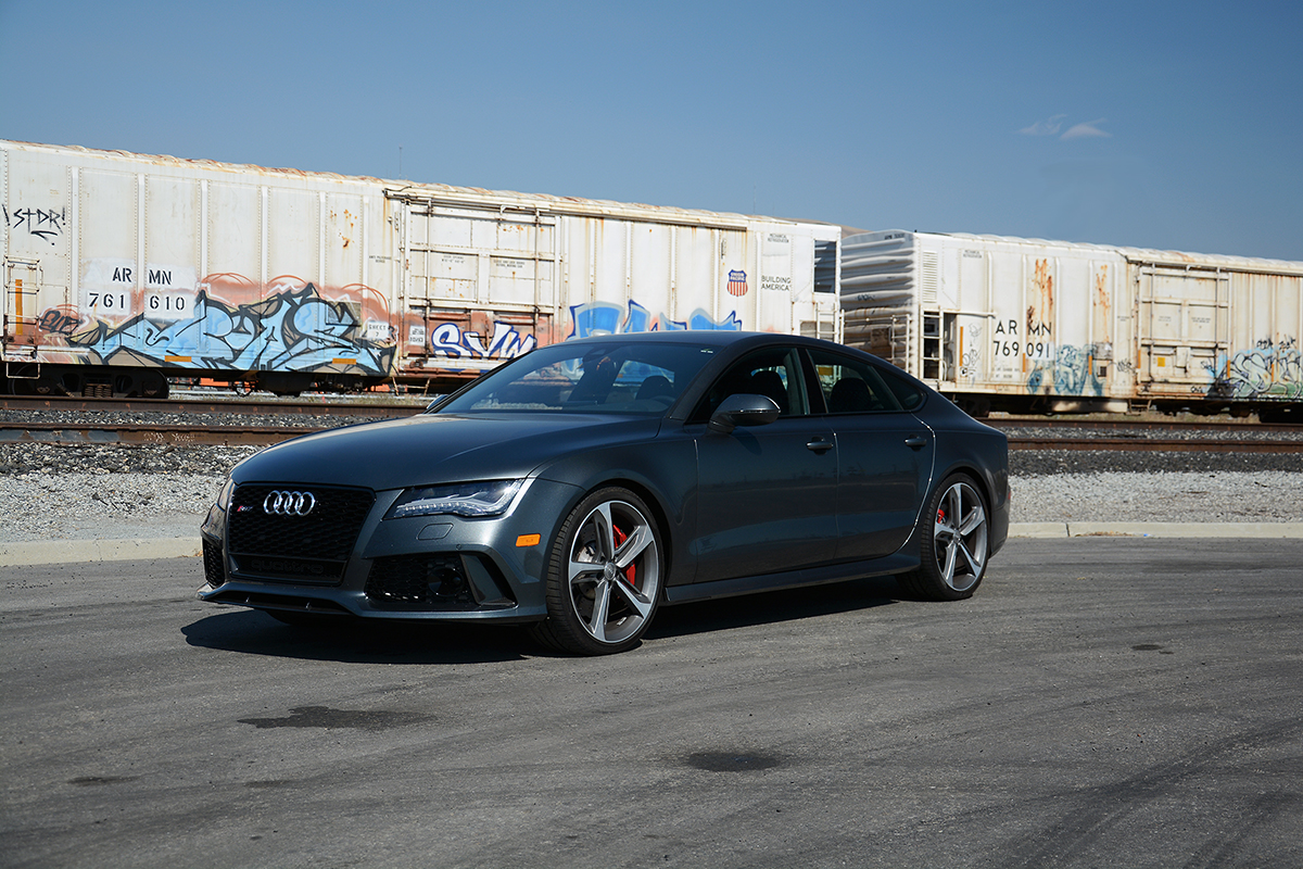 APR Tuned C7 Audi RS7 4.0T Stage 1 with Milltek Turbo-Back Exhaust