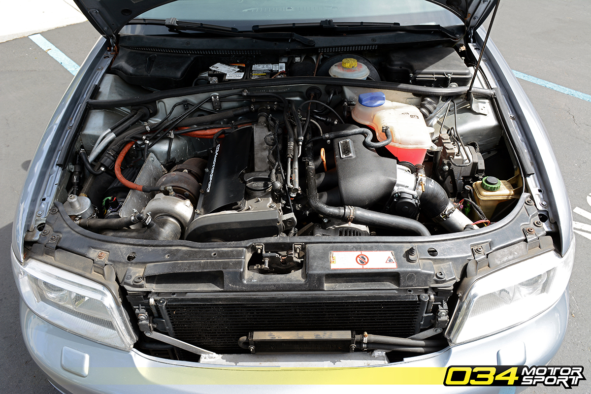 Dillon's Big Turbo B5 Audi A4 1.8T Quattro / 034Motorsport ...