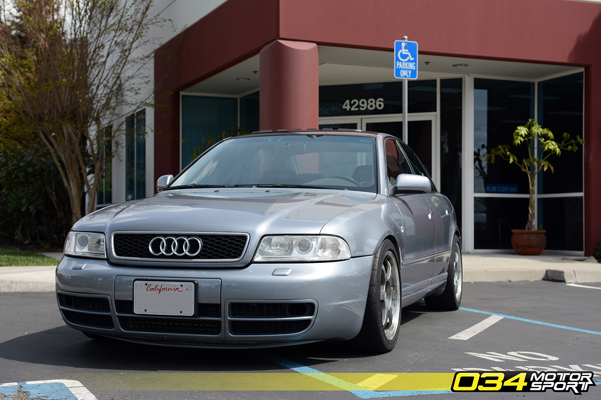 Dillons Big Turbo B5 Audi A4 18t Quattro 034motorsport Blog