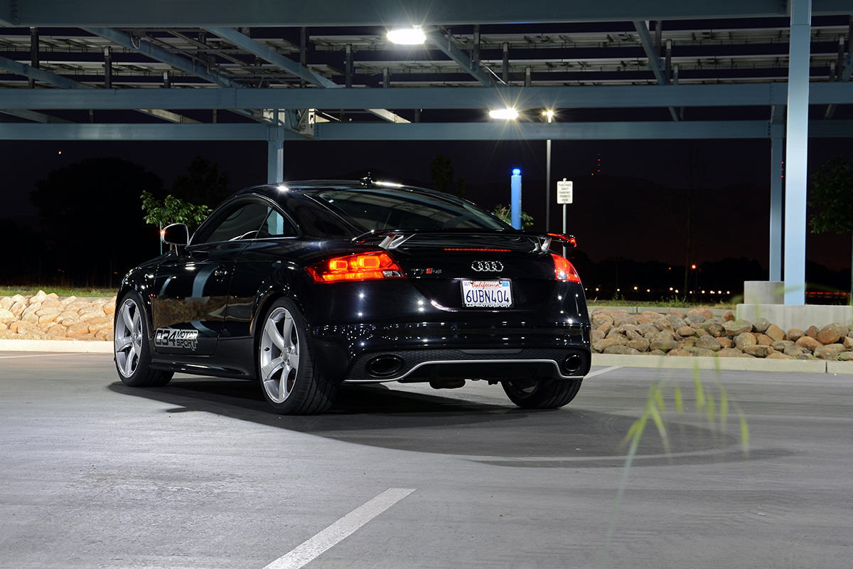 Javad's Phantom Black Audi TT RS with 034Motorsport RS500 Turbocharger Upgrade Package