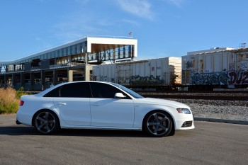 Lowered B8 Audi S4 - H&R Sport Springs