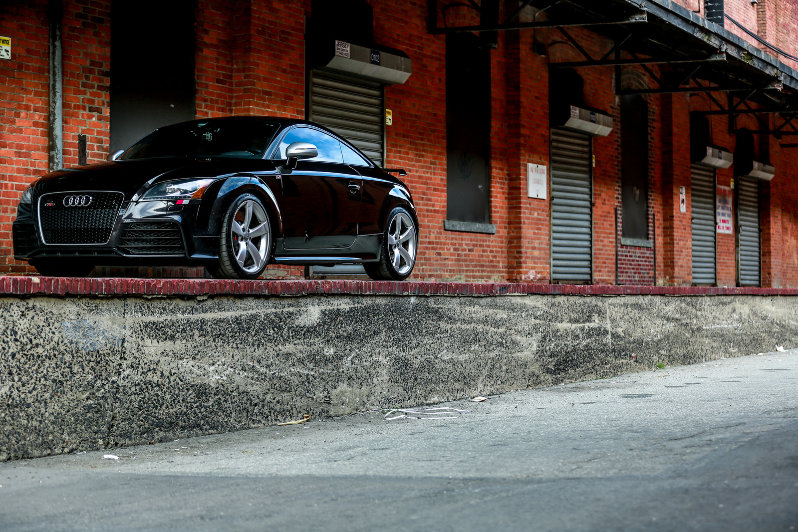 Panther Black Crystal Audi TT RS with RS500 Turbo Kit