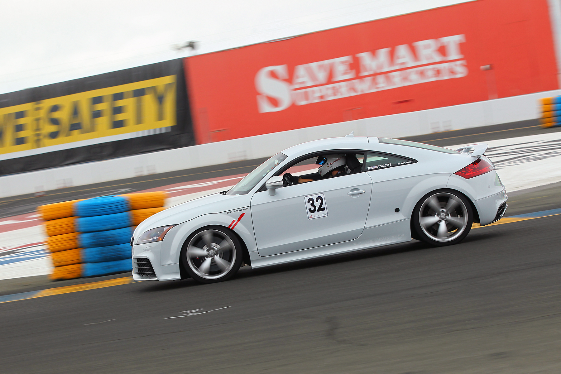 Suzuka Grey Stage 2 Audi TT RS by 034Motorpsort