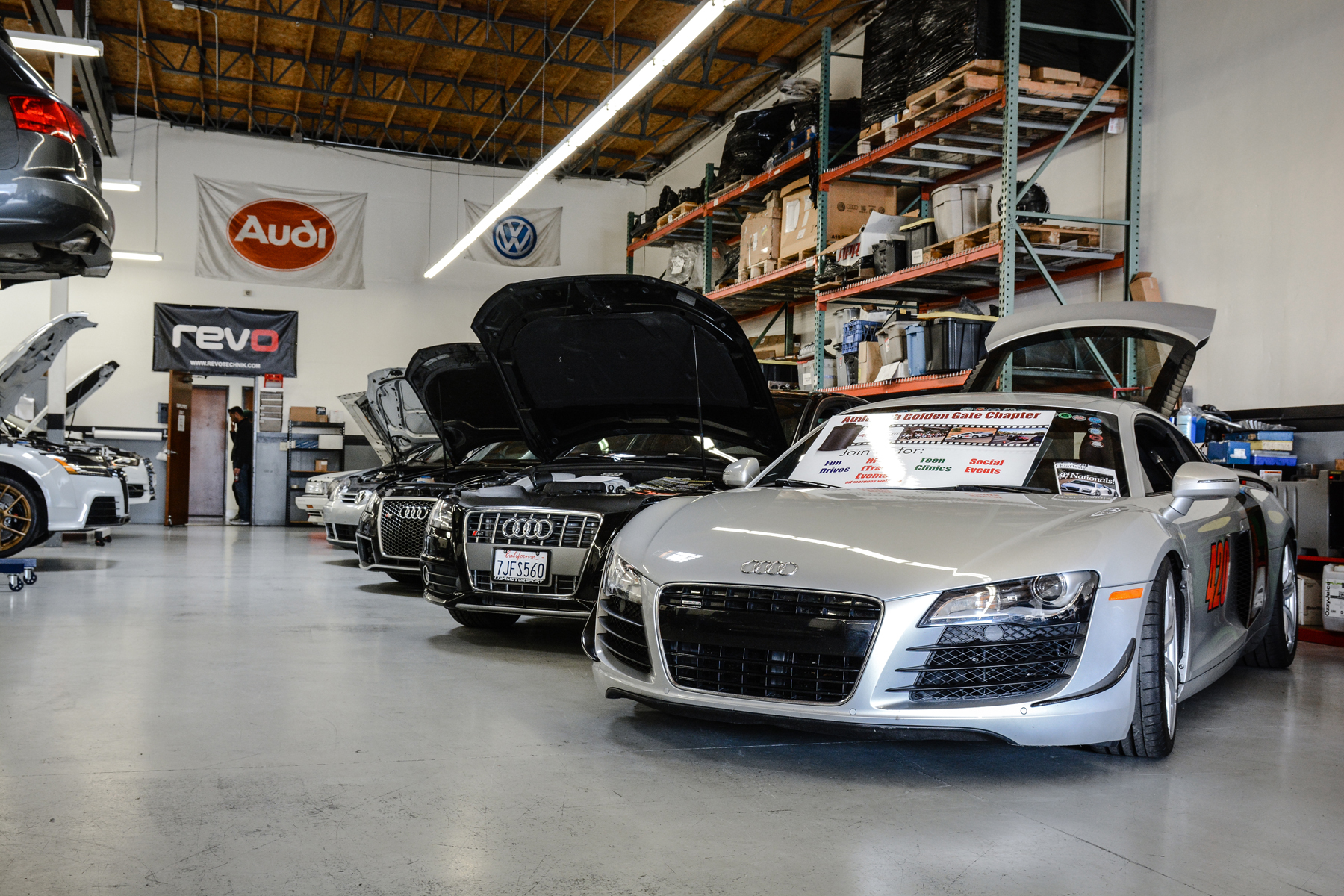 Audi R8 V8 from Audi Club Golden Gate
