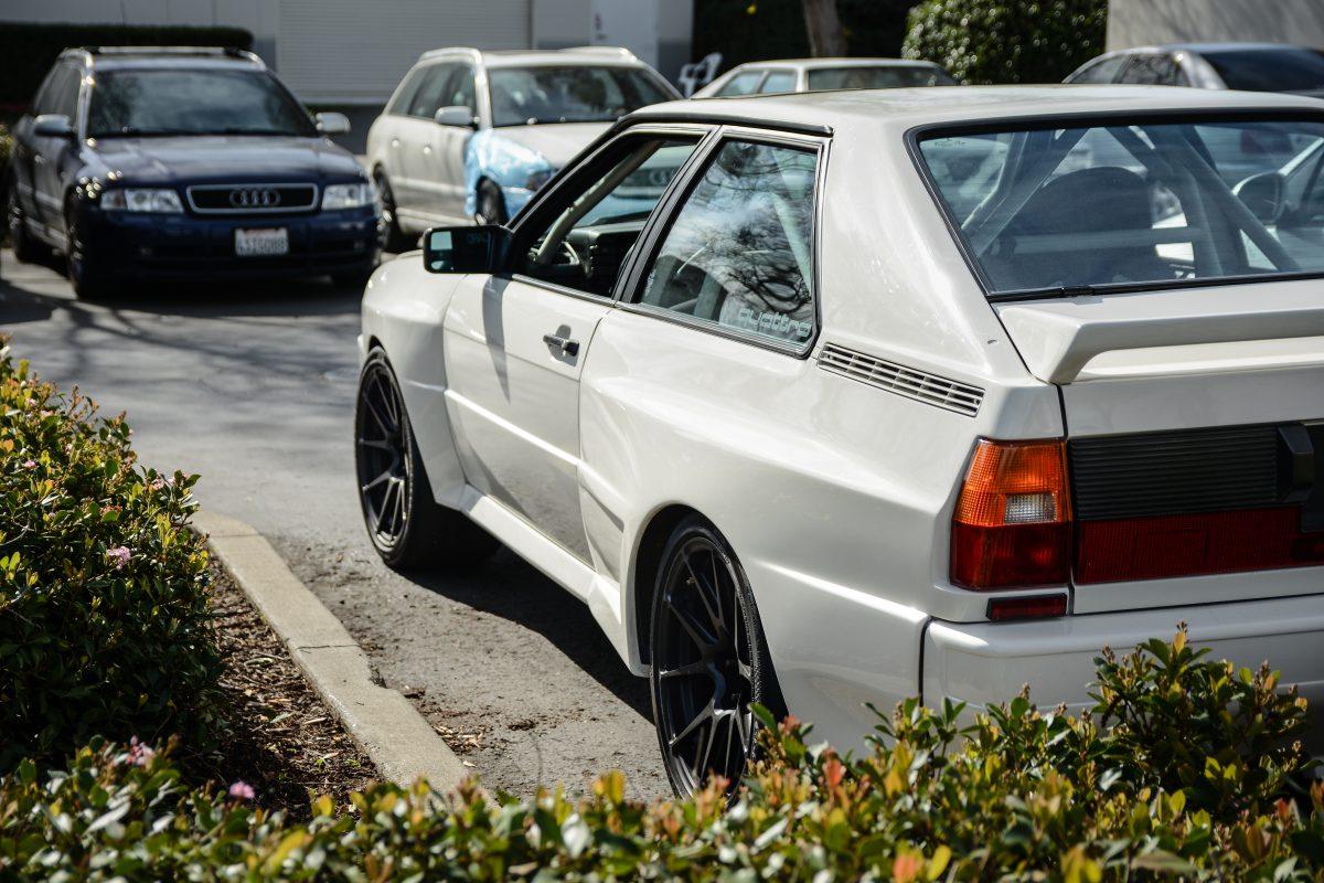 Dean's Widebody Audi Ur Quattro 20vt