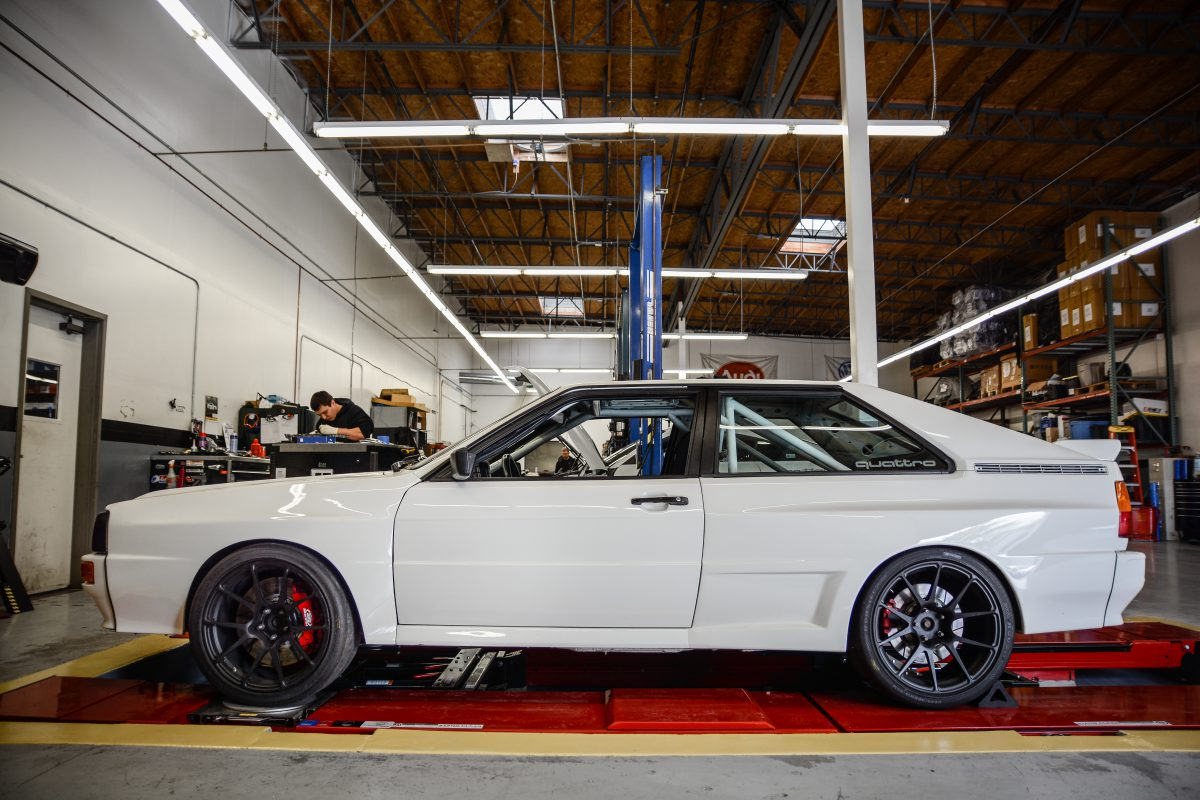 Dean's Widebody Audi Ur Quattro at 034Motorsport