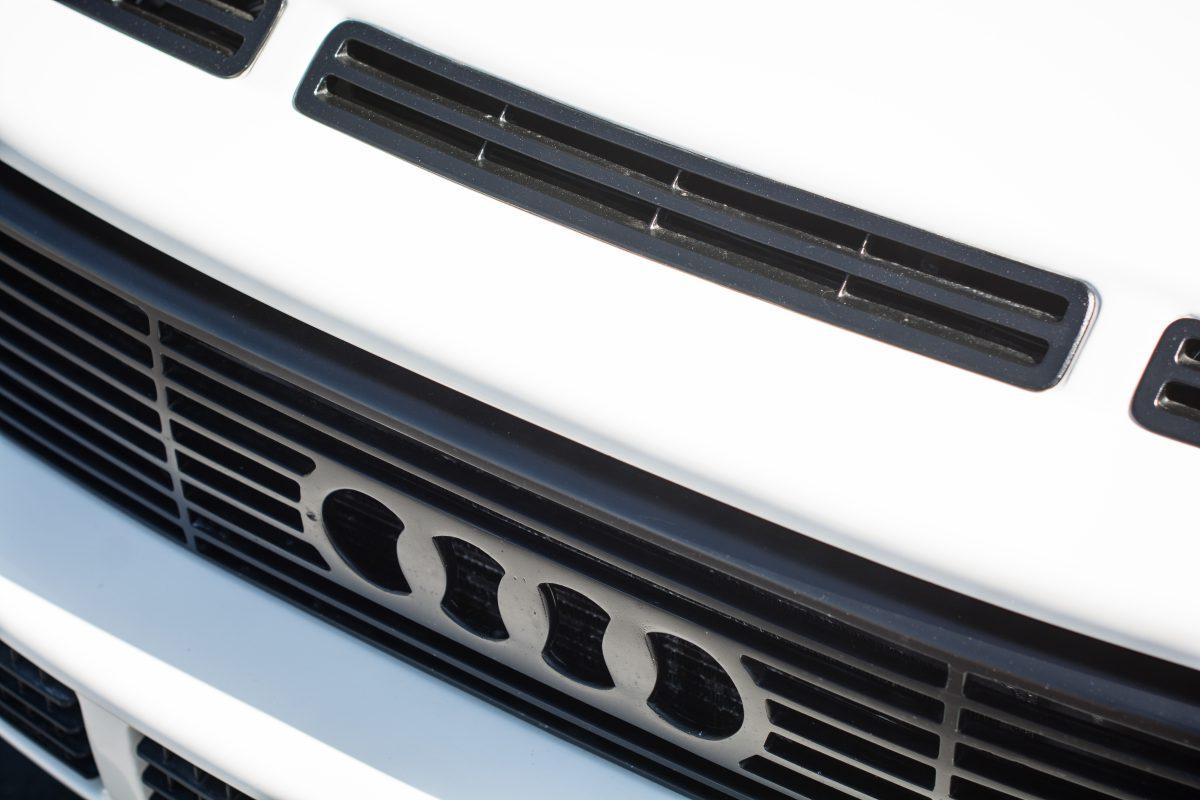 Dean's Widebody Audi Ur Quattro with Sport Quattro Hood