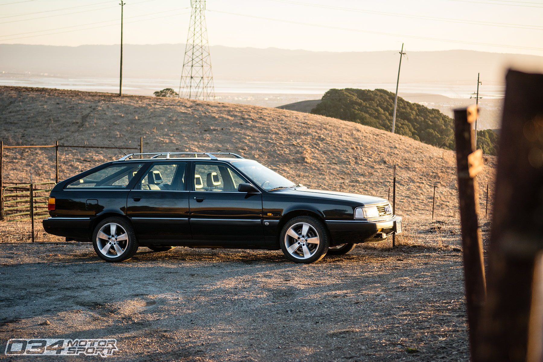 "034Motorsport Built Big Turbo Audi 200 20v Avant ""Black Rhino"""