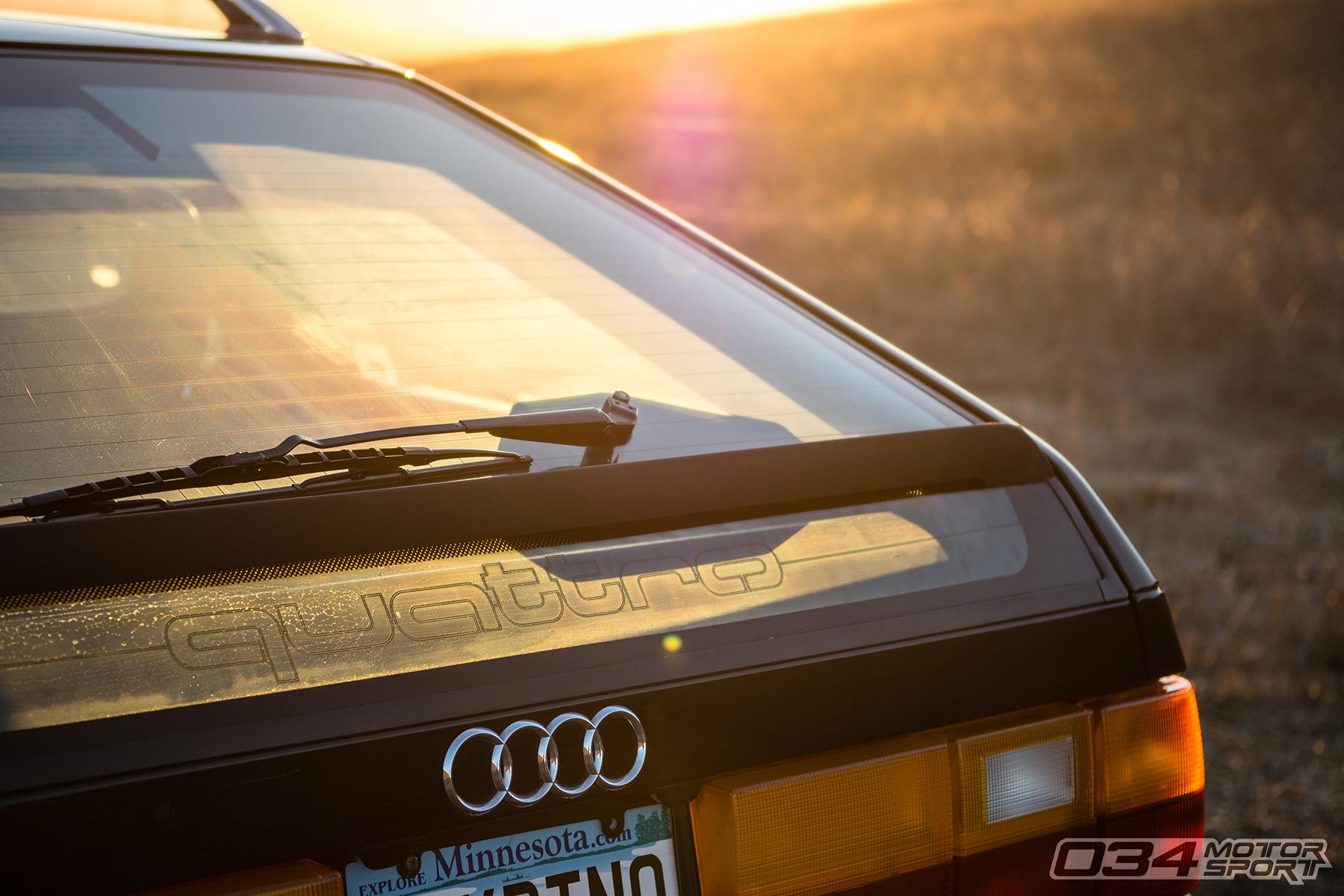 Big Turbo Audi 200 Avant Quattro