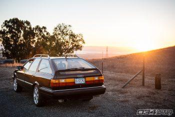 "Chris von Pechmann's 1991 ""Black Rhino"" Audi 200 Avant"