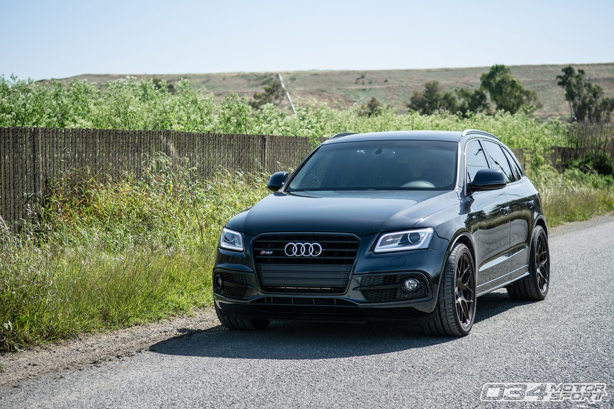 Audi SQ5 Front with Ecode Headlights