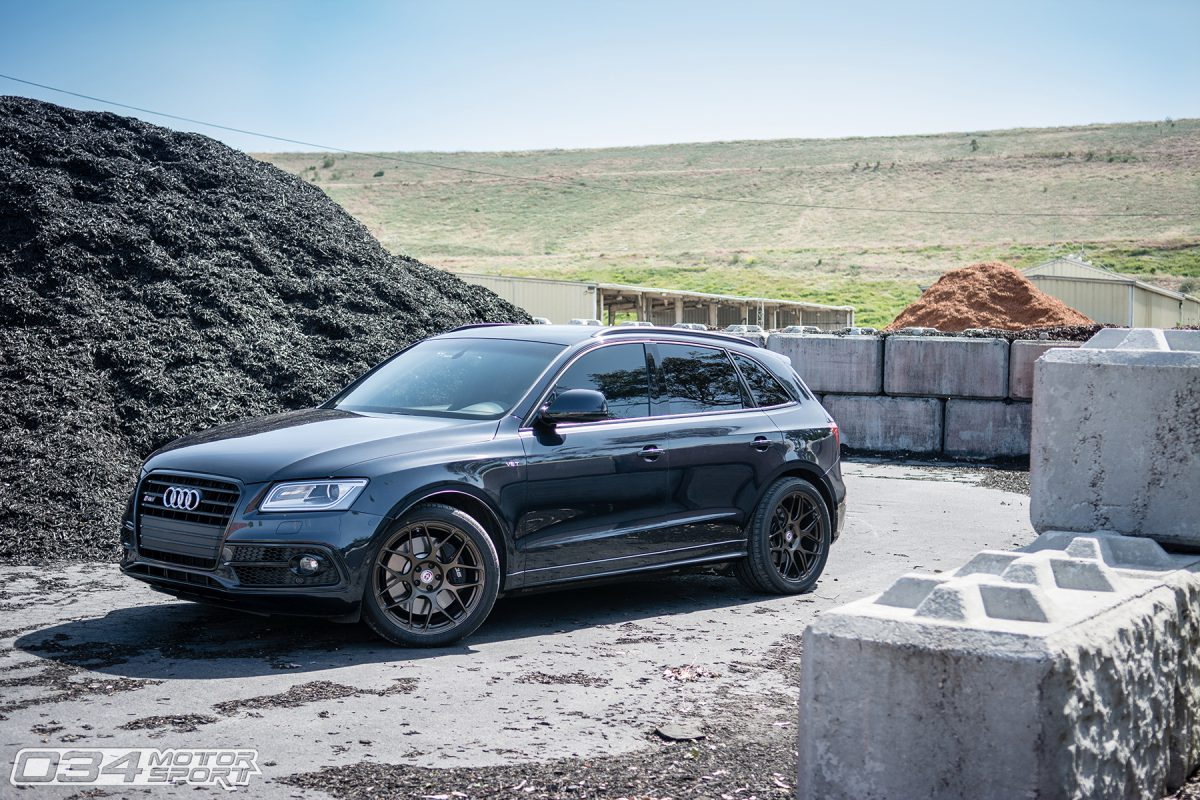 Audi SQ5 with 034Motorsport Upgrades