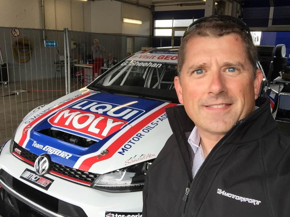 Gary Sheehan of Motorsport joins TCR in Mk7 VW Golf GTI TCR Racer