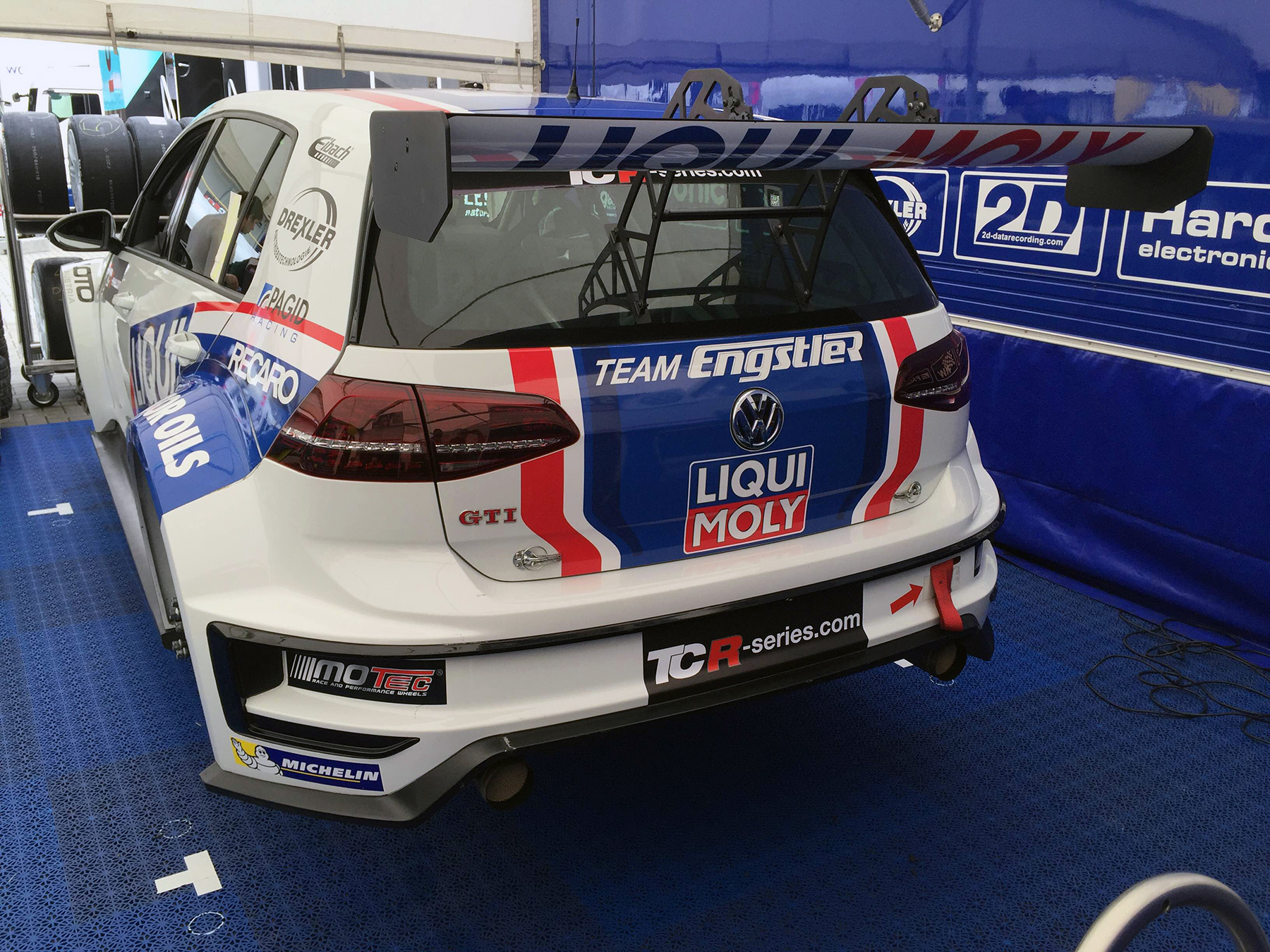 Liqui Moly Team Engstler GTI TCR Race Car
