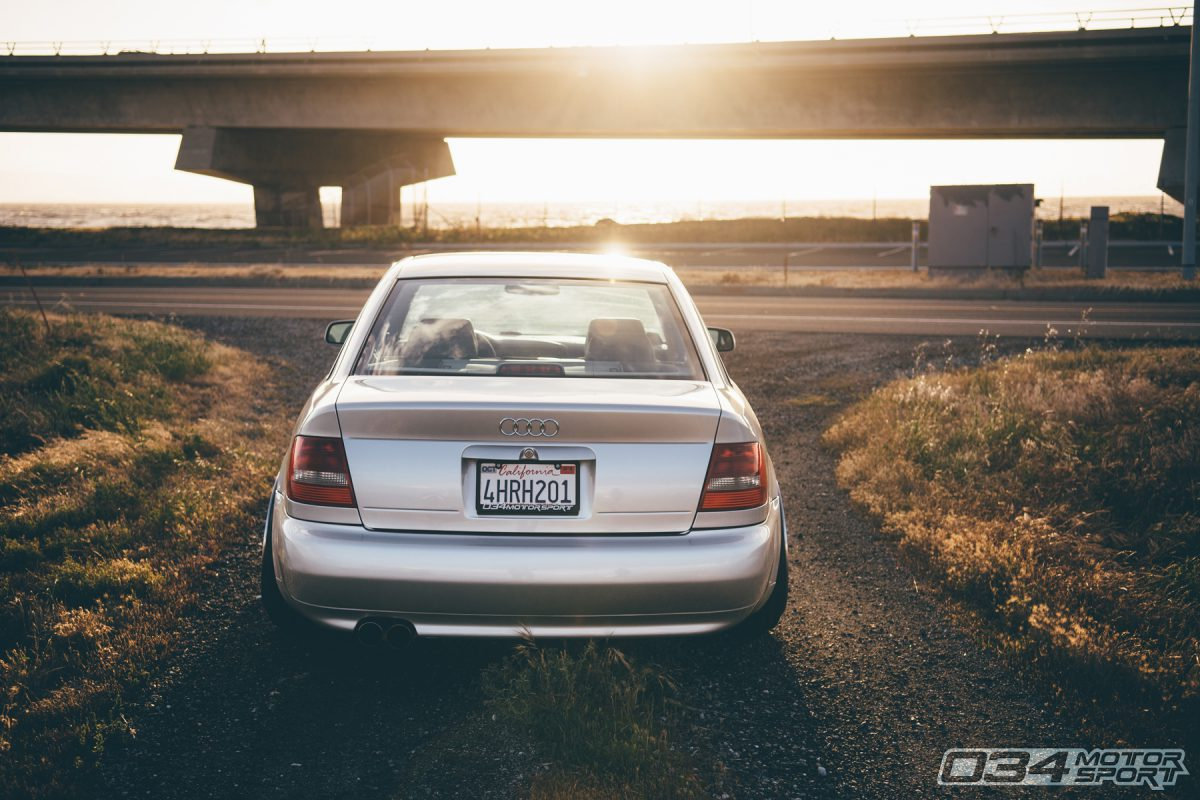 Stage 3 B5 Audi S4 on air suspension