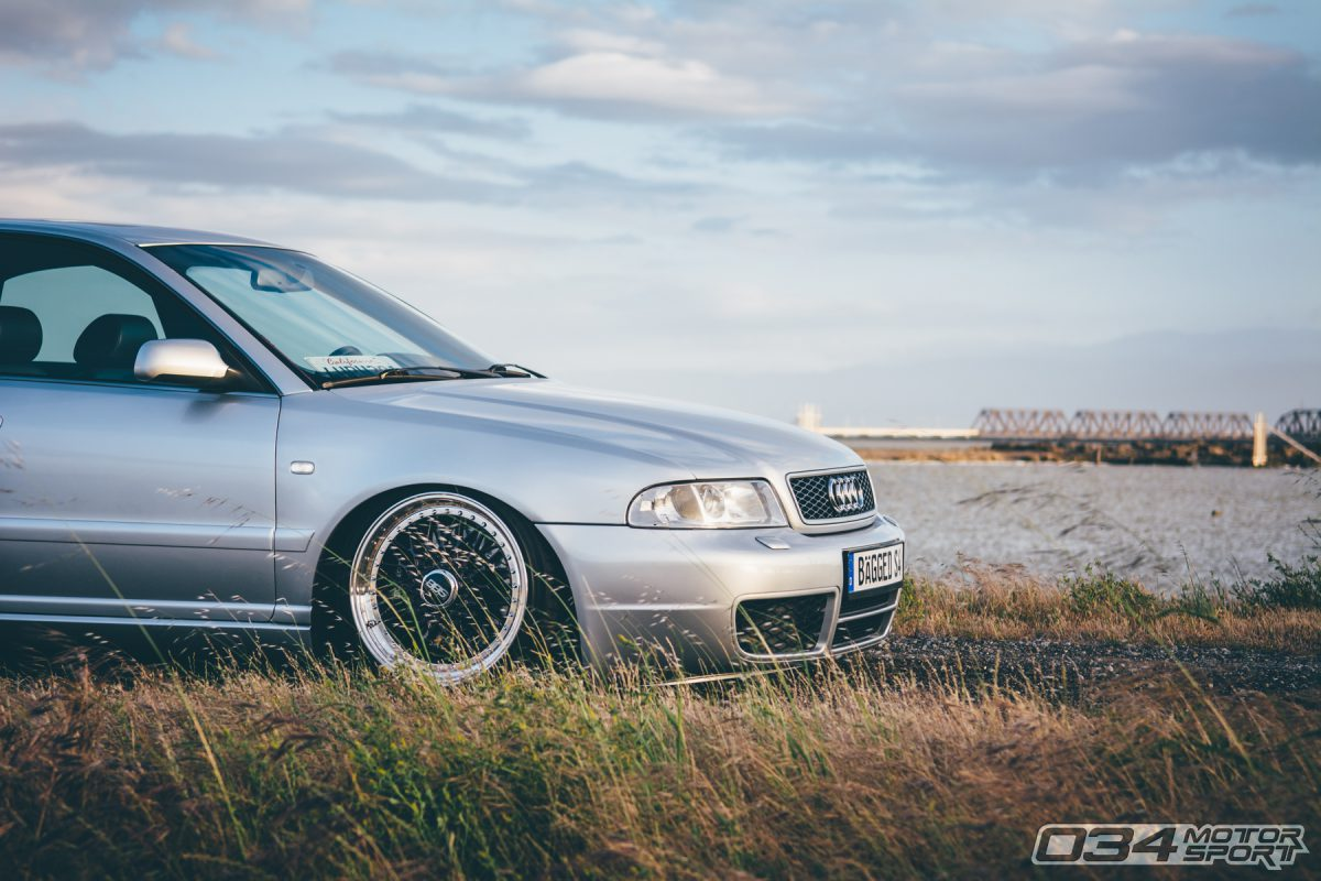 Audi B5 S4 on BBS wheels