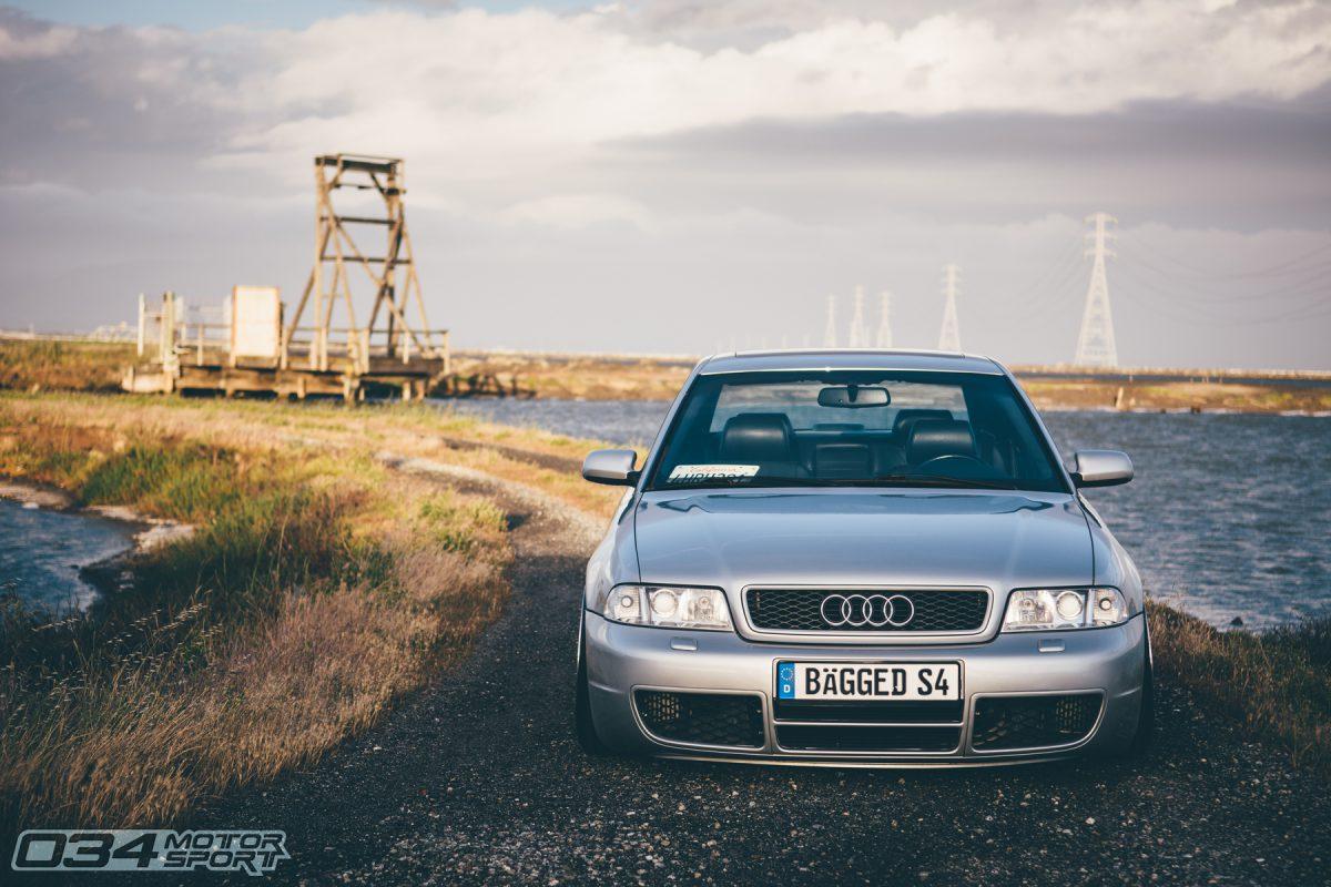 Bagged B5 Audi S4