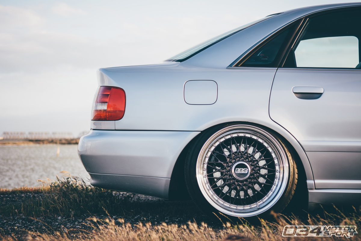 Bagged Silver B5 S4 on BBS wheels