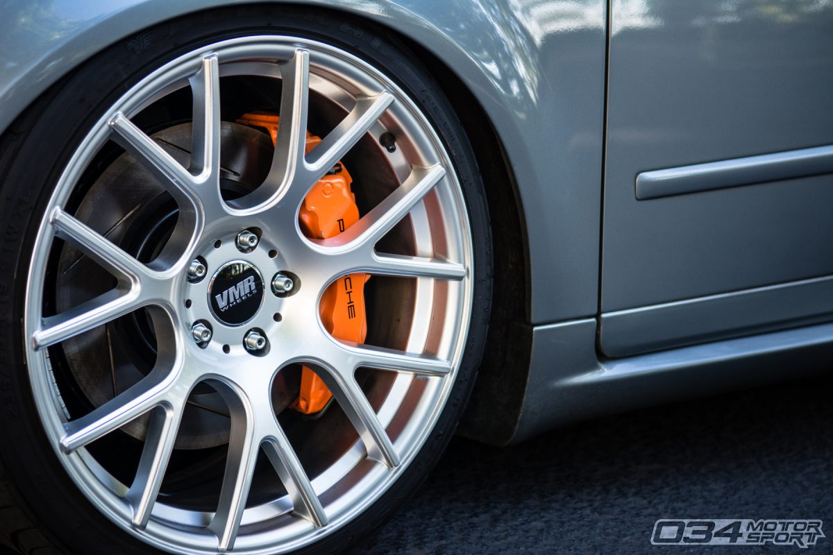 Brembo 18Z Calipers under VMR wheels