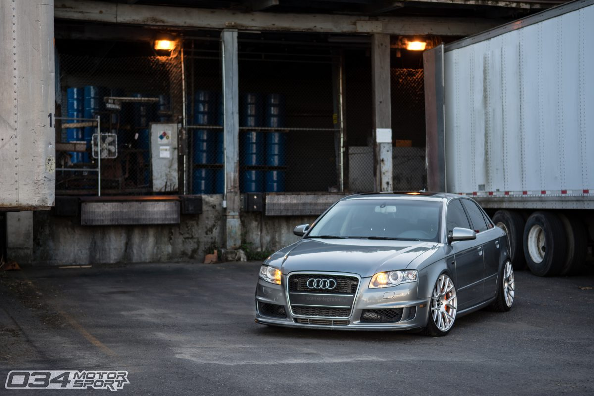 Lowered B7 A4 with BBK