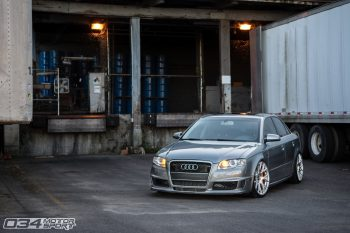 Trent's Quartz Grey Metallic B7 Audi A4
