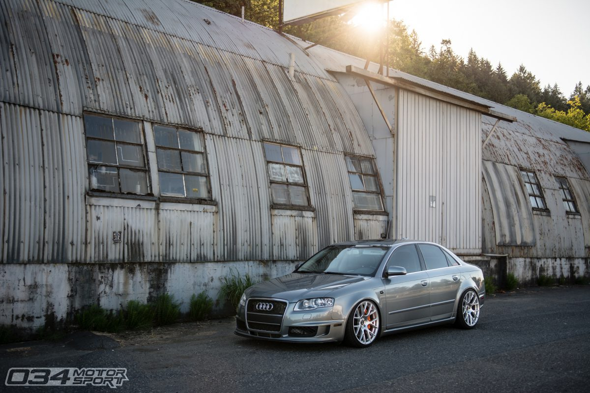 Lowered B7 Audi A4