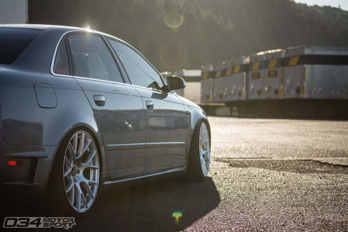 Lowered B7 A4 on VMR 810 wheels