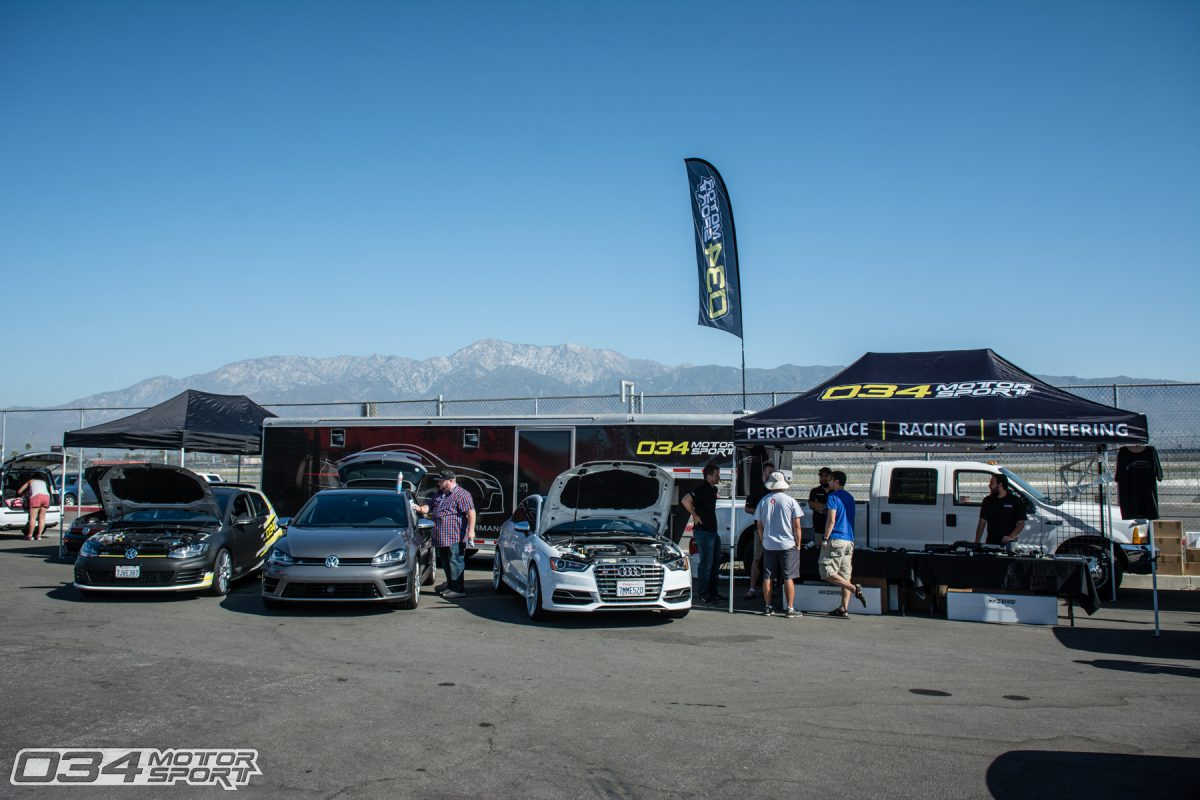 034Motorsport Booth at Fastivus 2016