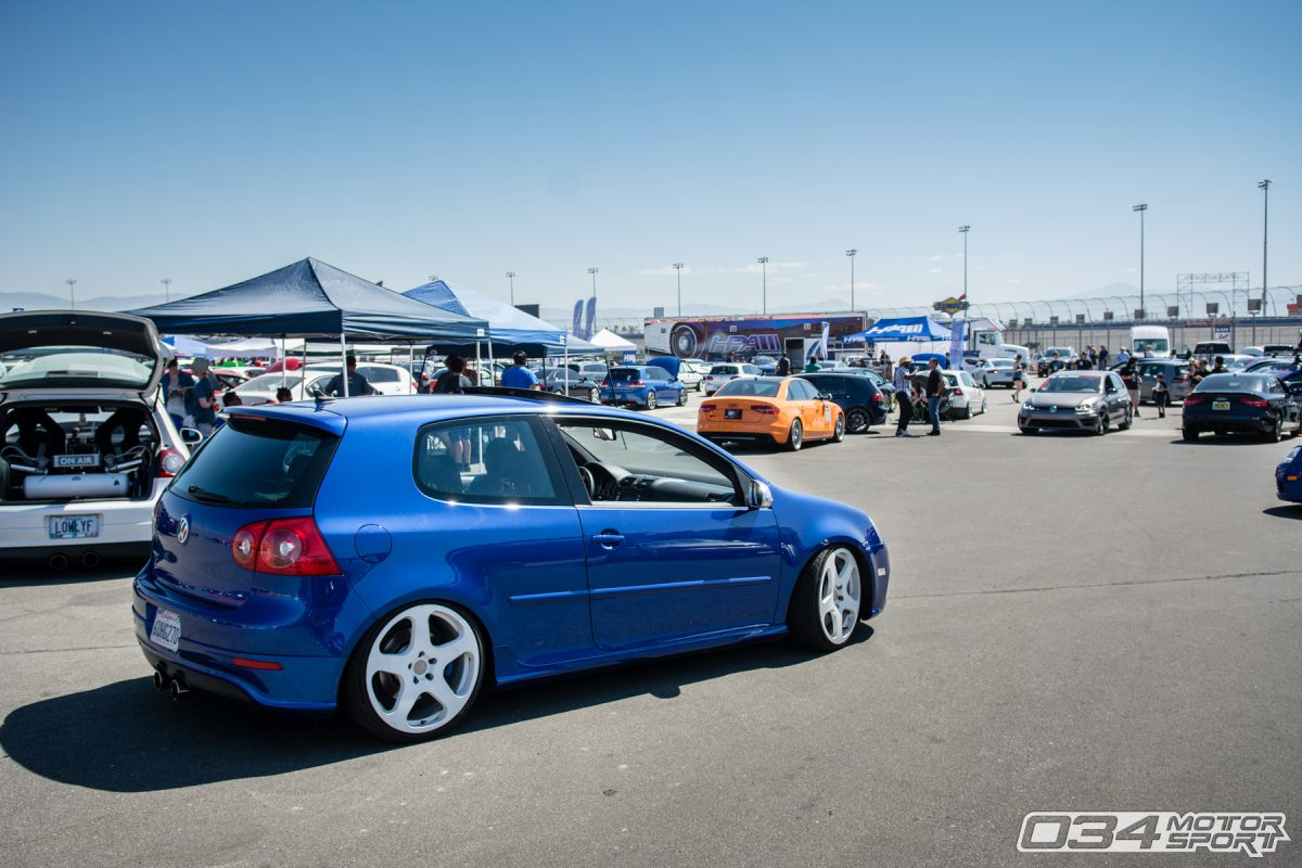 Volkswagen MkV Golf R at Auto Club Speedway of California