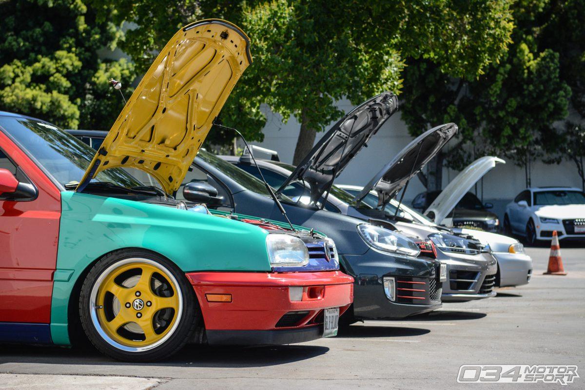 Volkswagen GTI Generations Including MkIII, MkVI, MkVII
