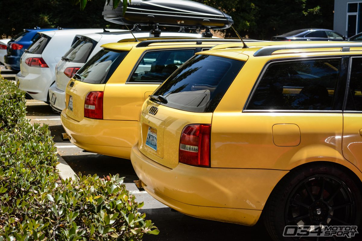 Imola Yellow B5 S4 Avants at 034Motorsport in Fremont, CA