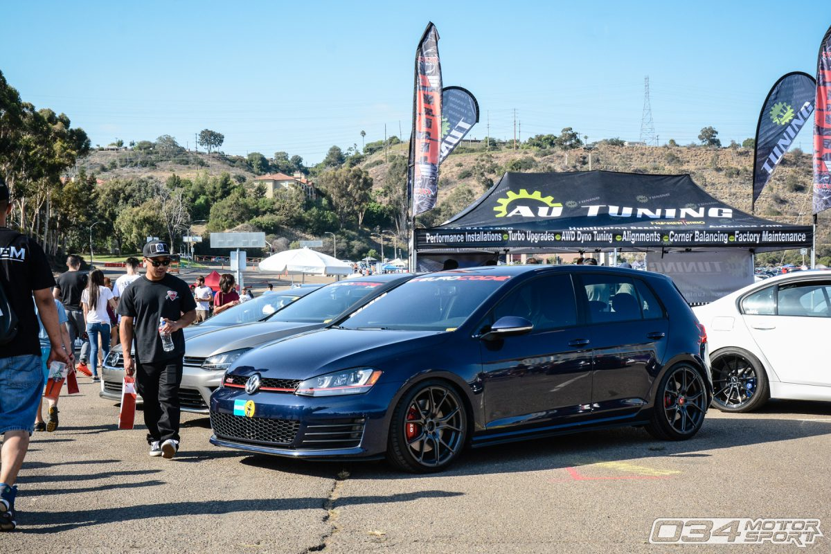 MkVII Volkswagen GTI at Big SoCal Euro