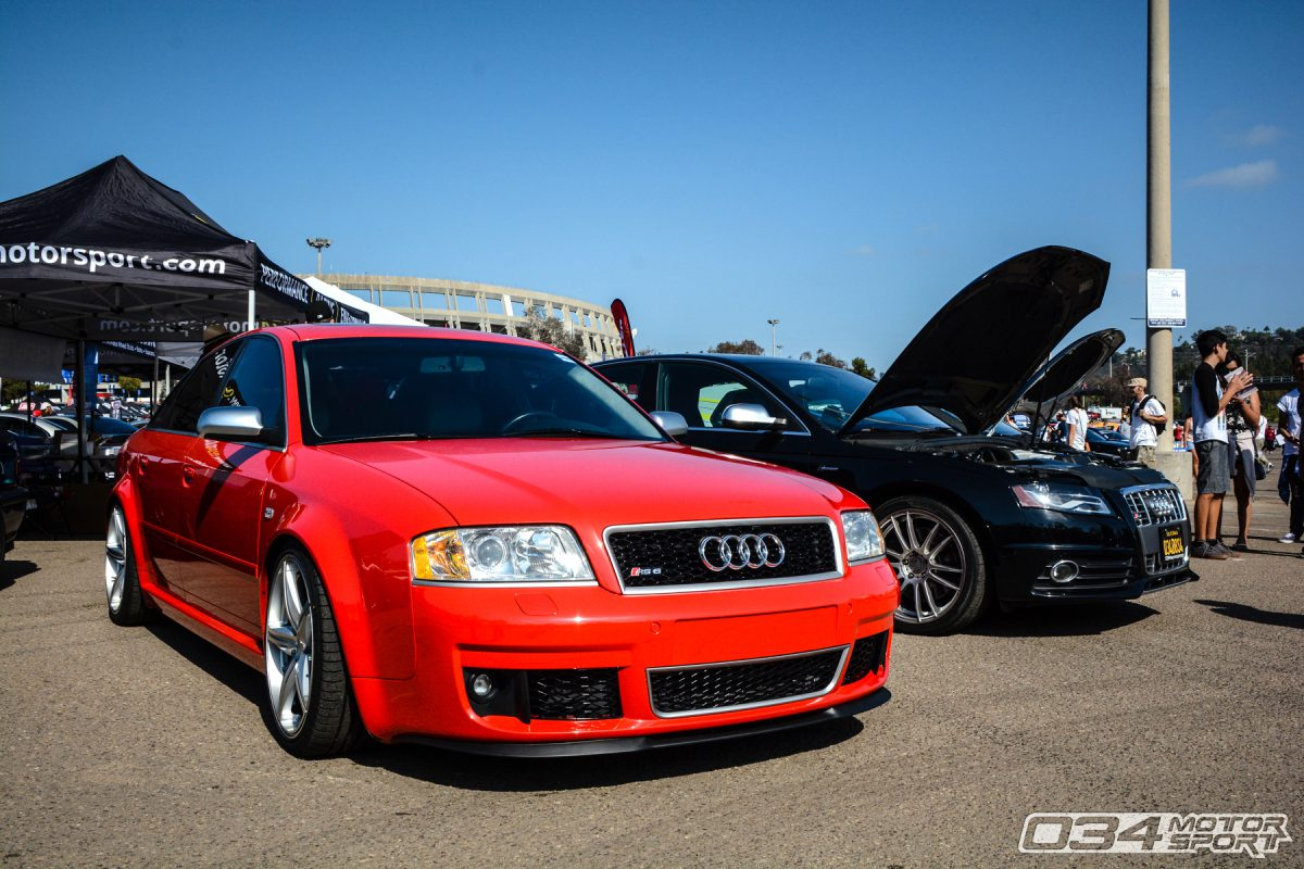 C5 Audi RS6 4.2T at Big SoCal Euro in San Diego, CA