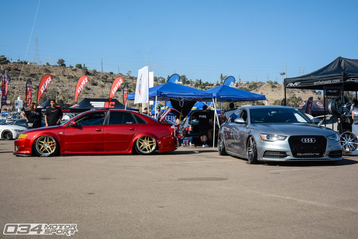 Bagged B6 And C7 Audi