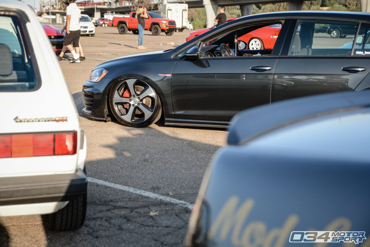 MkI and MkVII Volkswagens gather at Big SoCal Euro