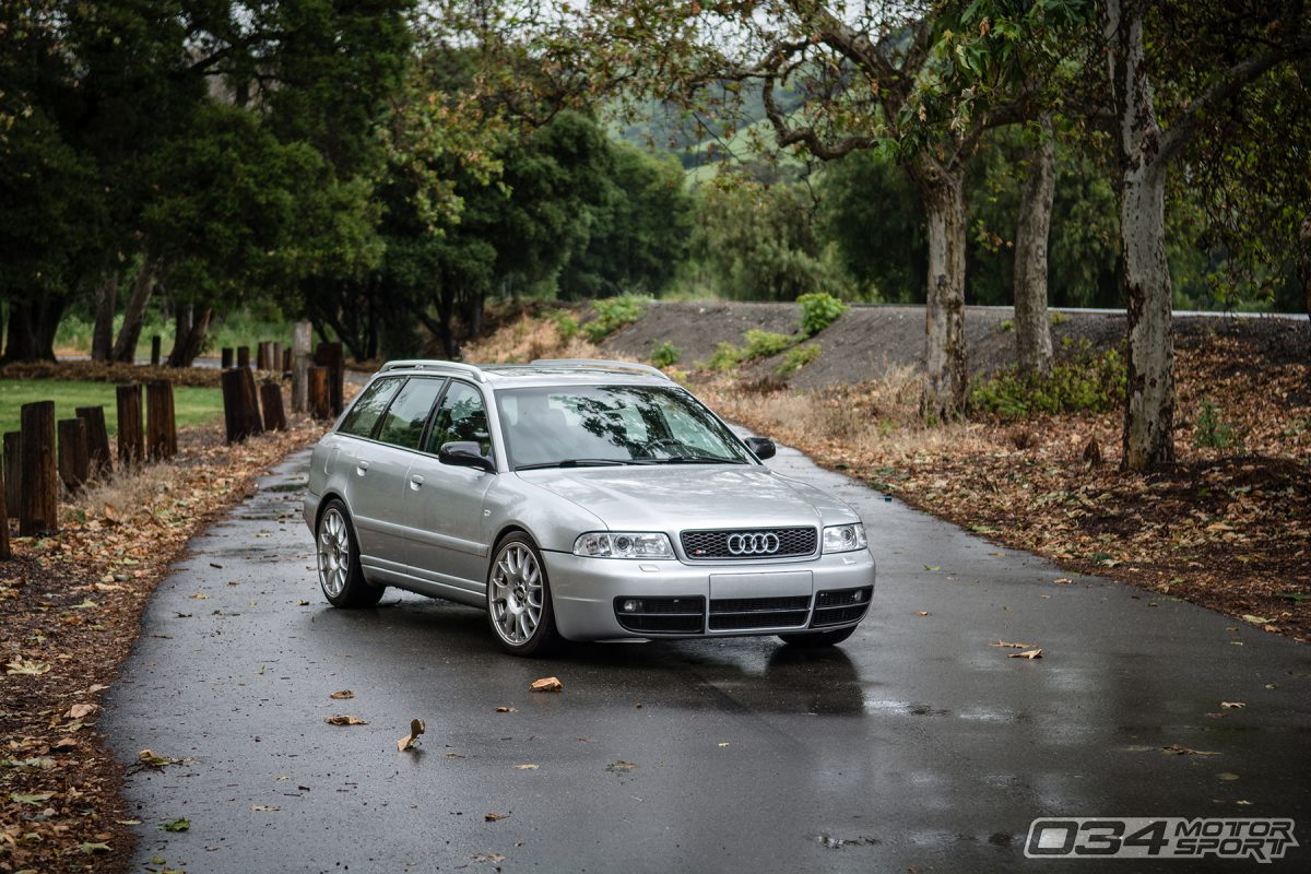Lowered B5 Audi S4 Avant Quattro with BBS CH