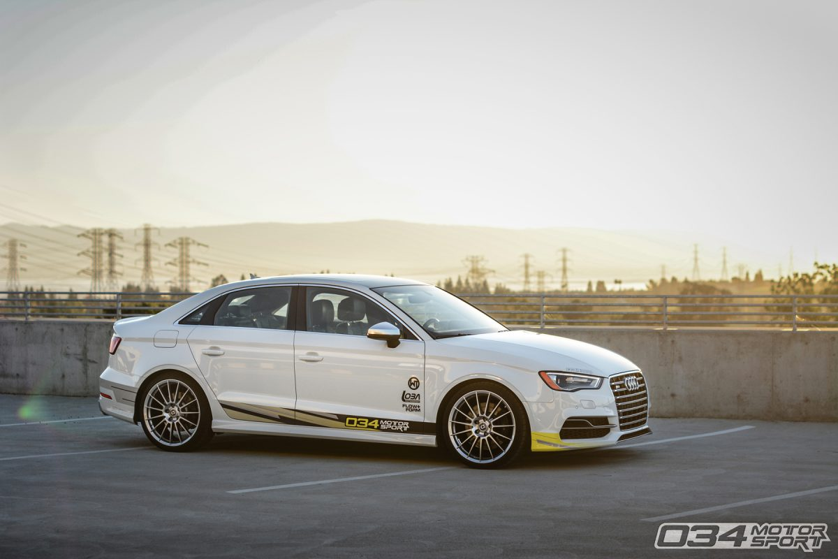 034Motorsport R460 8V Audi S3 Lowered on HRE Wheels