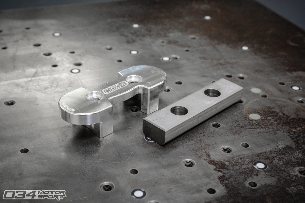 B9 Audi A4 Billet Aluminum Machined Transmission Mount Insert