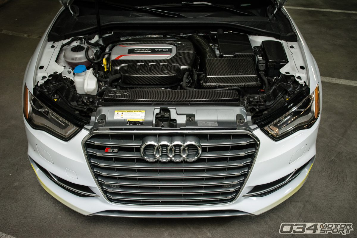 Carbon Fiber Engine Cover Group for MQB Chassis Audi and Volkswagen