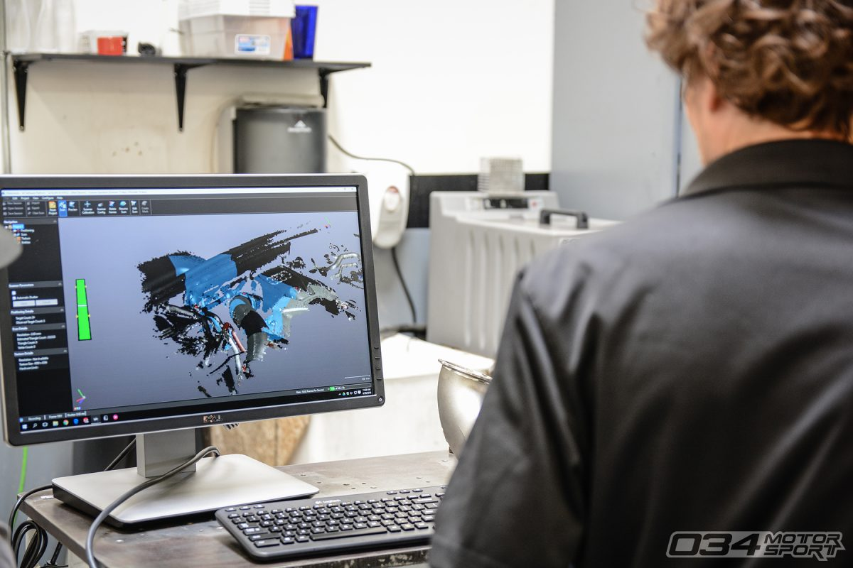 034Motorsport Engineering 3D Scans for Product Development
